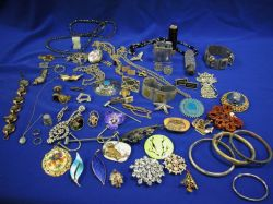 Small Group of Estate and Costume Jewelry.