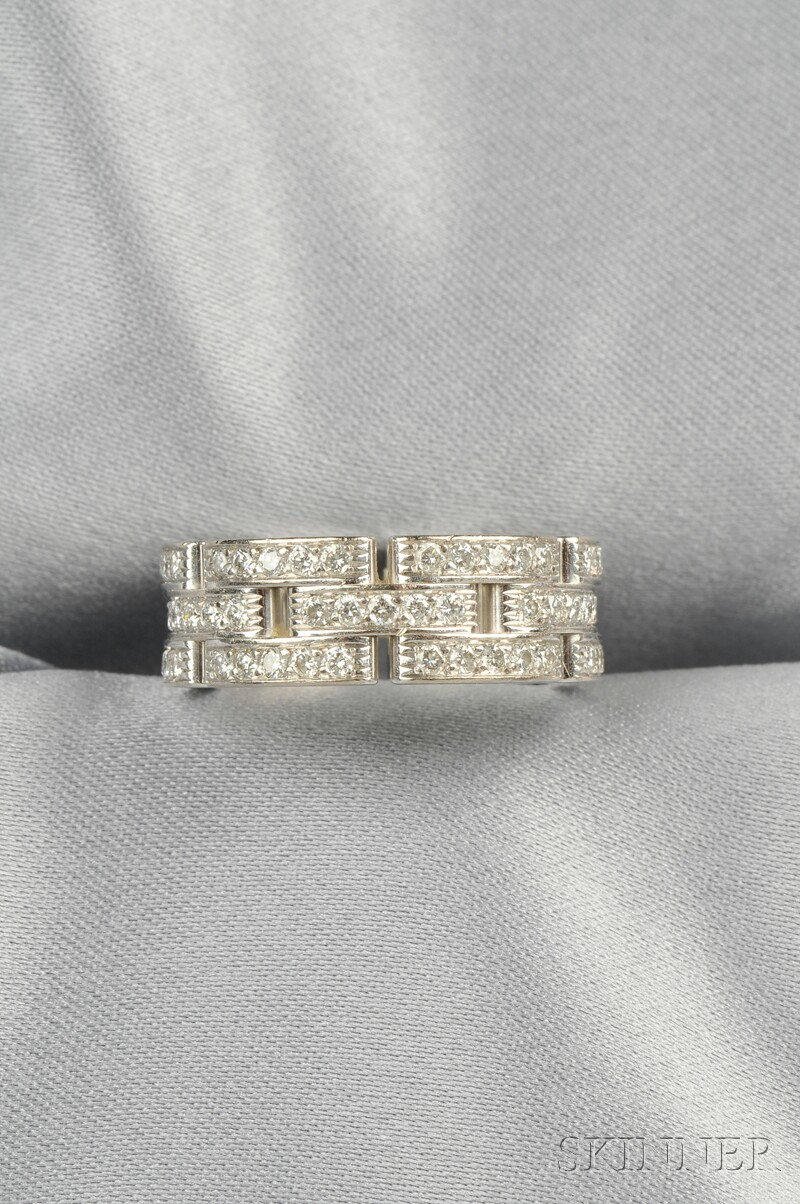 18kt White Gold and Diamond