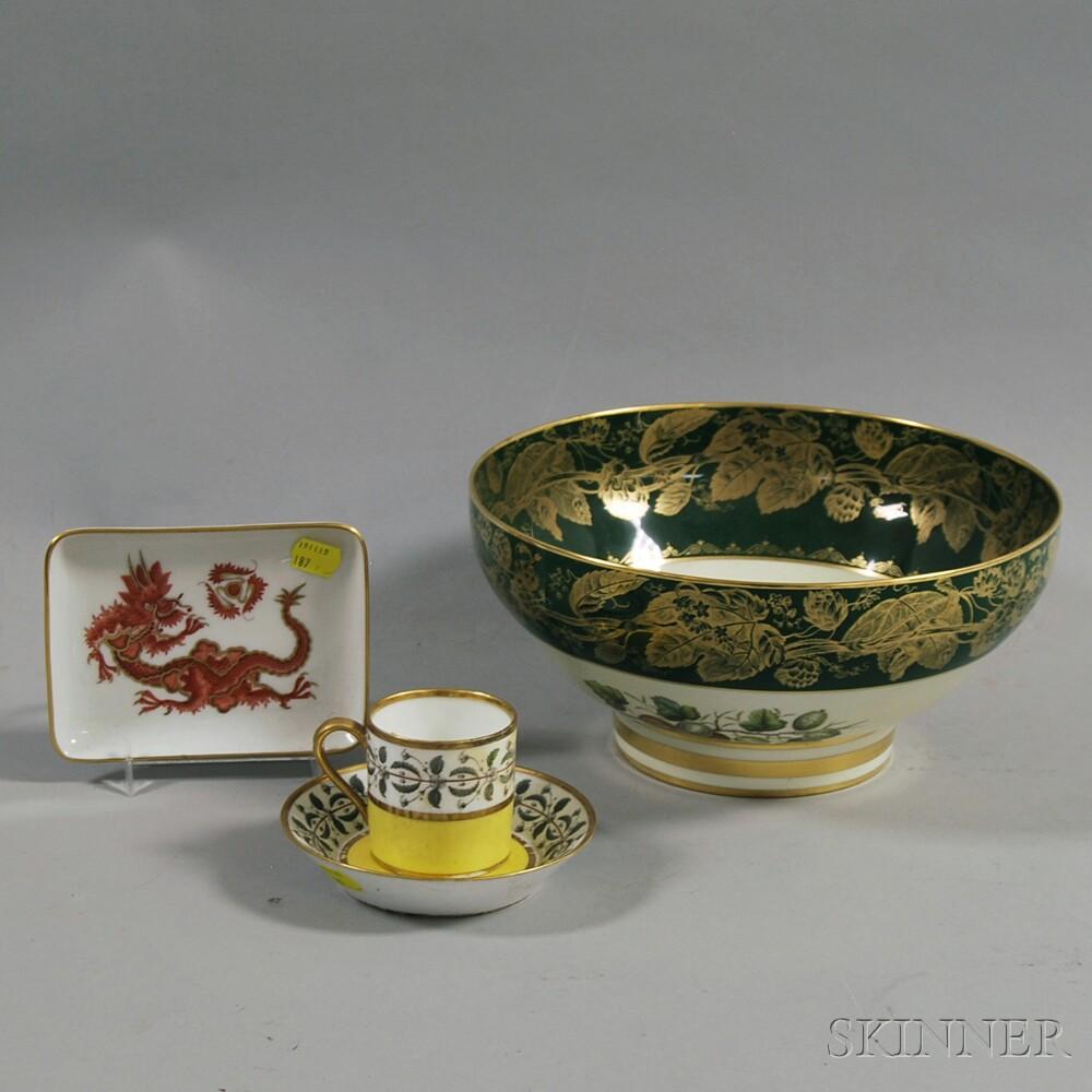 Four Pieces of European Porcelain