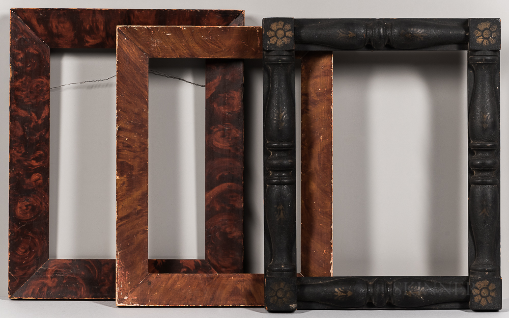 Three Paint-decorated Frames