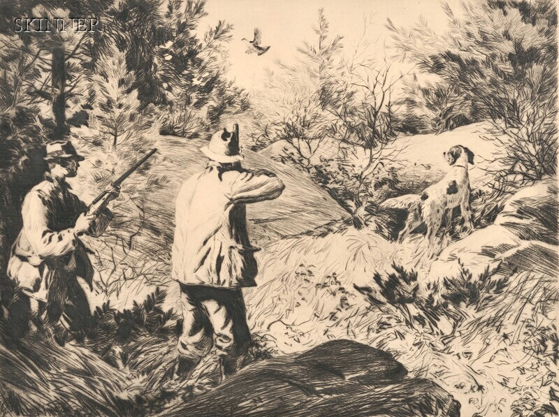 Aiden Lassell Ripley (American, 1896-1969)      Grouse Shooting