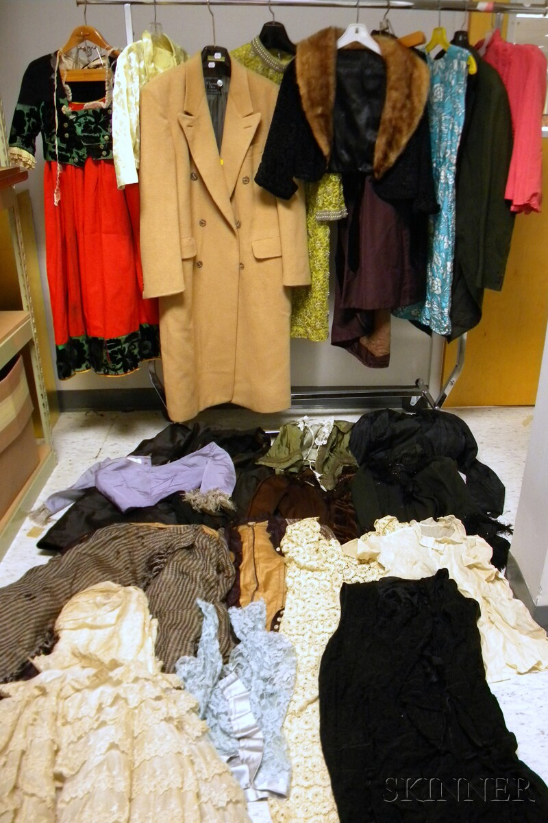 Group of Vintage and Antique Clothing/Costumes