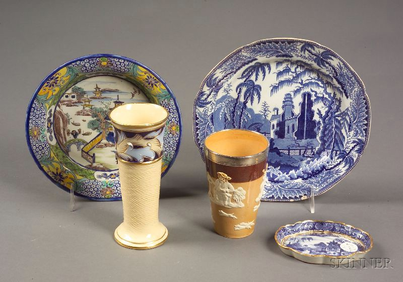 Five European Ceramic Tablewares