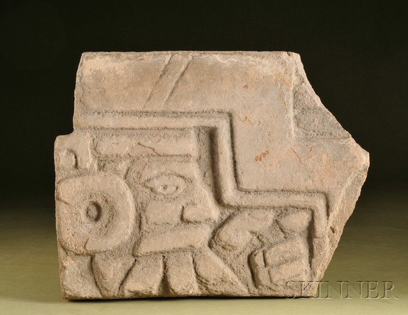 Pre-Columbian Stone Panel