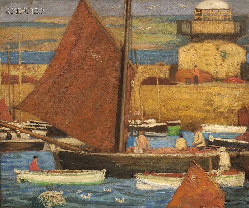 Sydney Lee (British, 1866-1949)      The Harbour