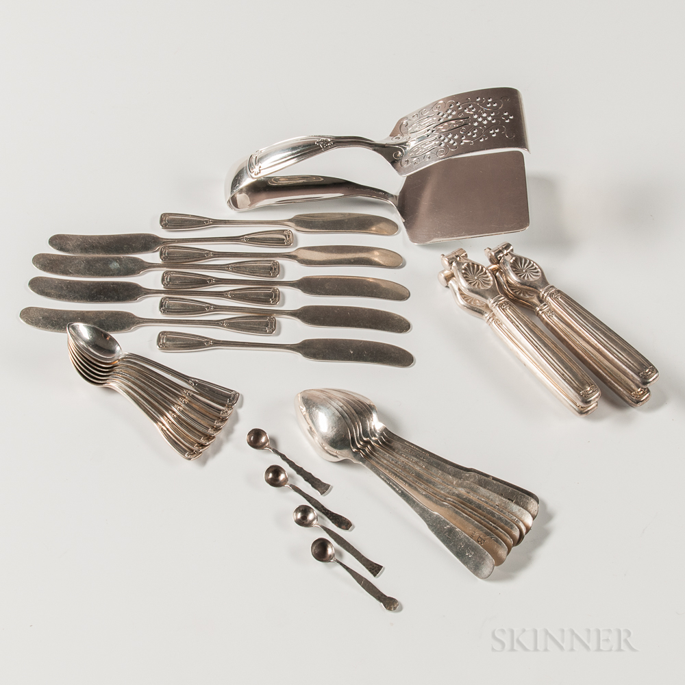 Thirty-one Pieces of Tiffany & Co. Sterling Silver Flatware