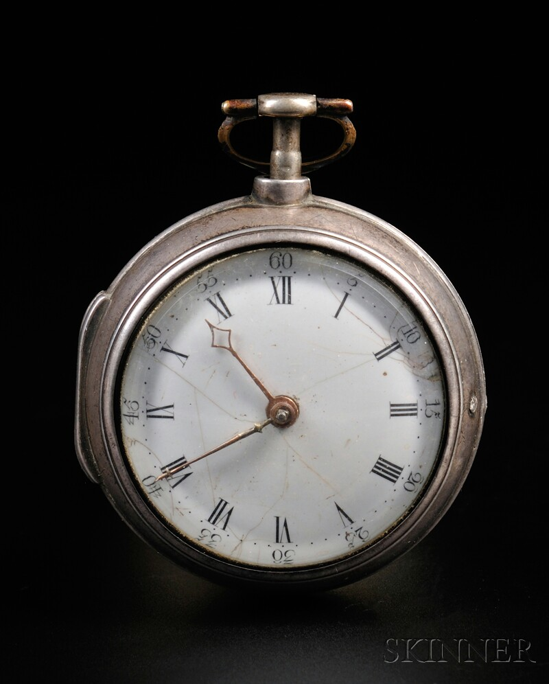 Daniel and Samuel Fenn Silver Pair Case Watch