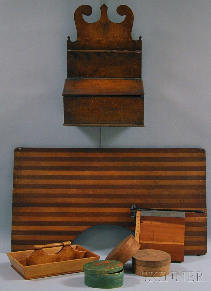 Six Wooden Items
