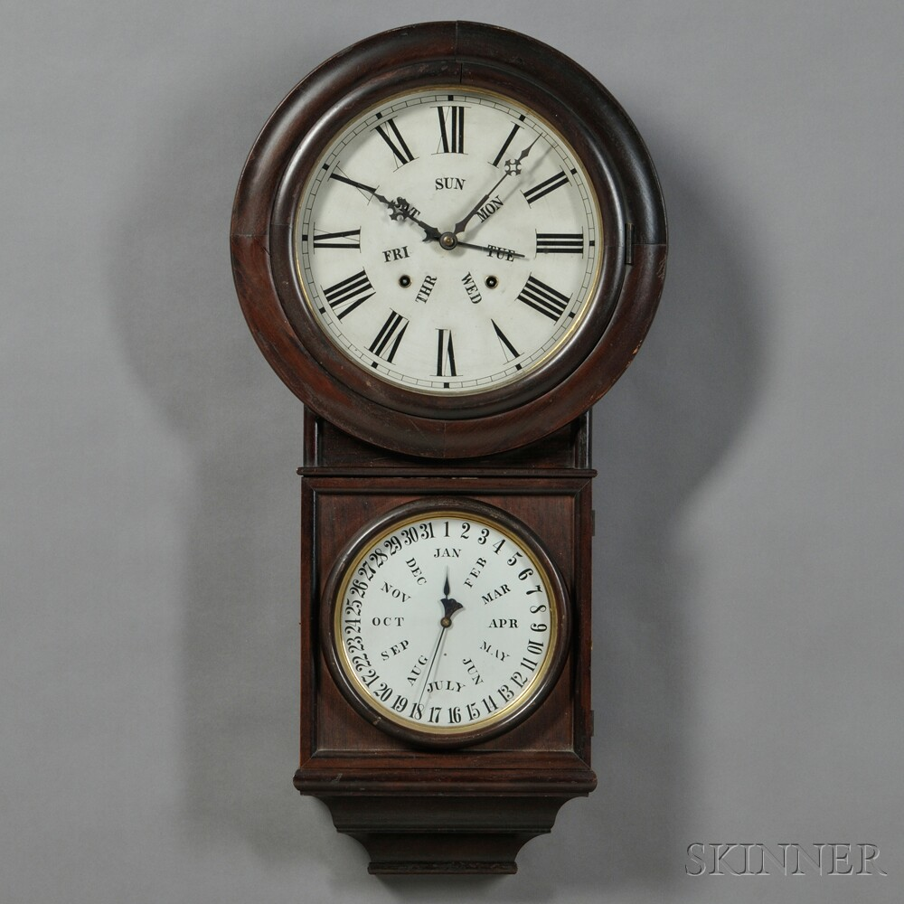 Welch Time and Strike No. 4 Round Head Regulator