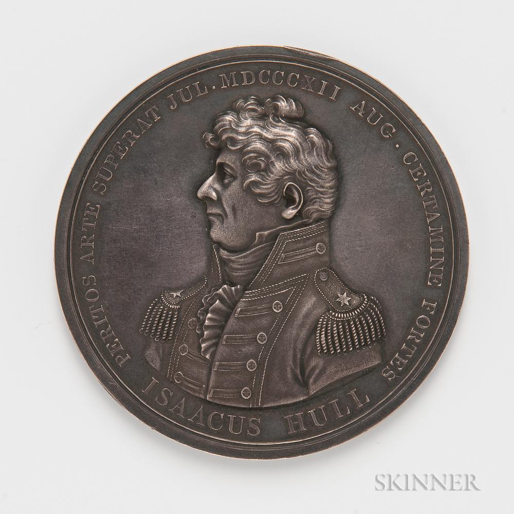 1812 Silver Captain Isaac Hull