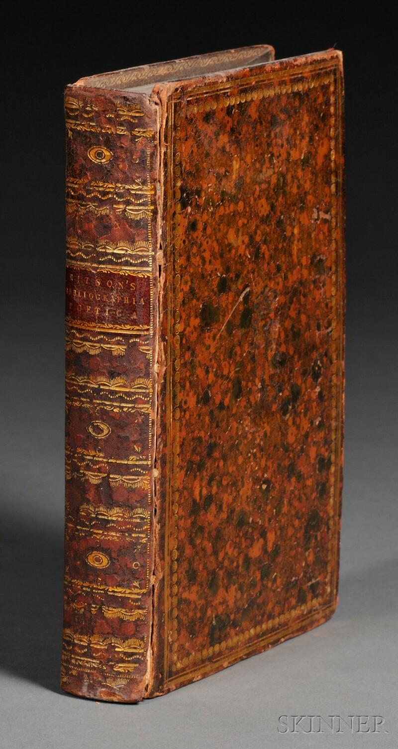 (Bibliography, English), Ritson, Joseph (1752-1803)