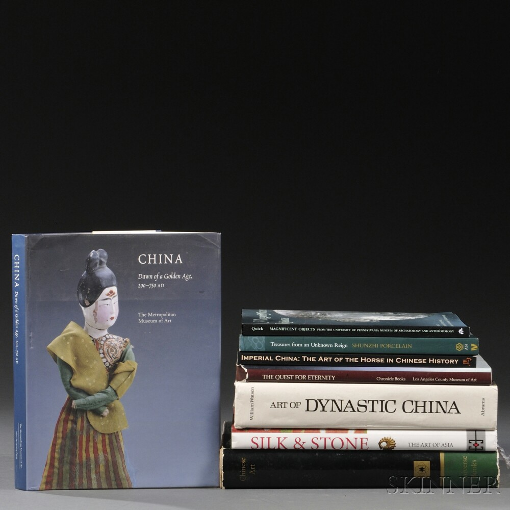 Approximately Twenty-two Books on General Asian Art.Approximately...