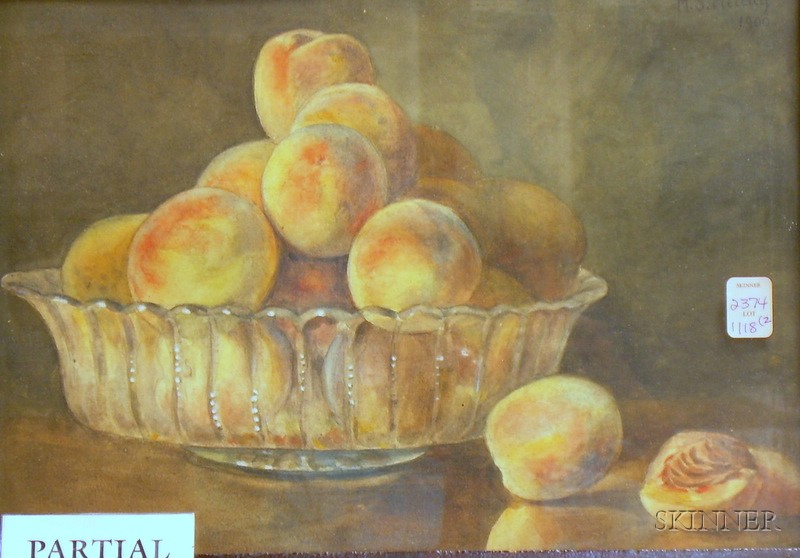 Lot of Two Still Life Paintings