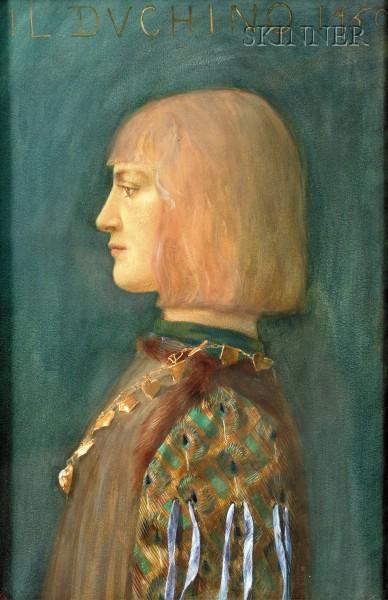 Harry Everett Townsend (American, 1879-1941)      Il Ducino 1450