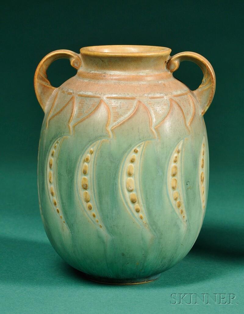 Roseville Pottery Falline Vase