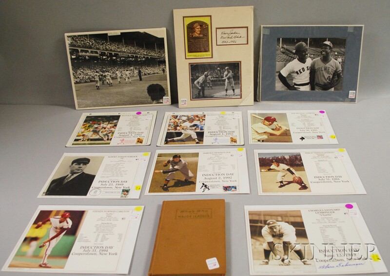 Group of Assorted Baseball Collectibles