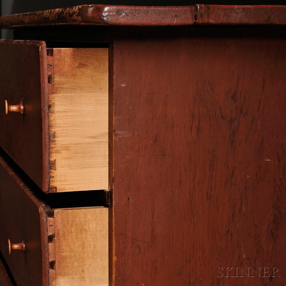 Shaker Pine Work Counter