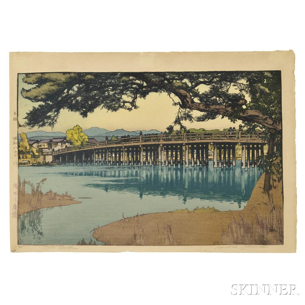 Hiroshi Yoshida (1876-1950), Seta Bridge