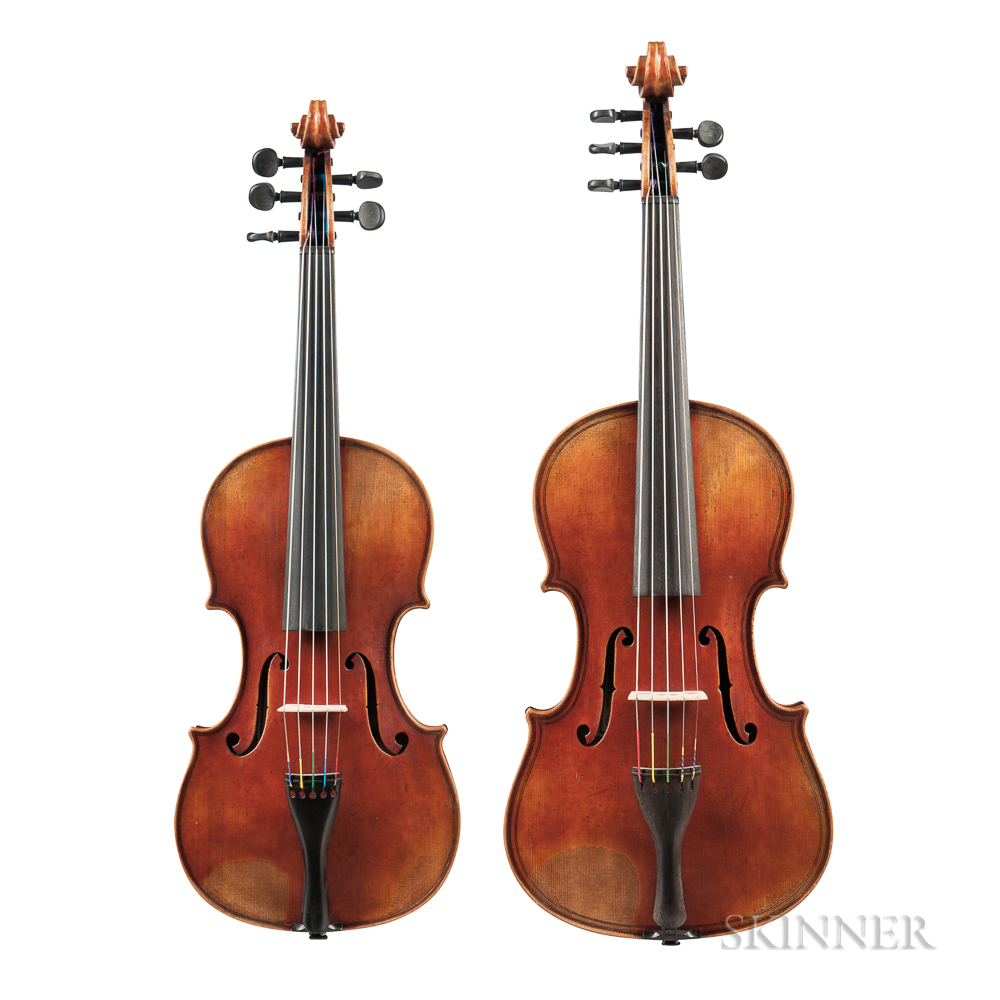 Five-string Violin and Viola Outfit, Jay Haide, 2011