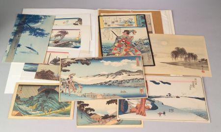 Twenty-two Japanese Prints