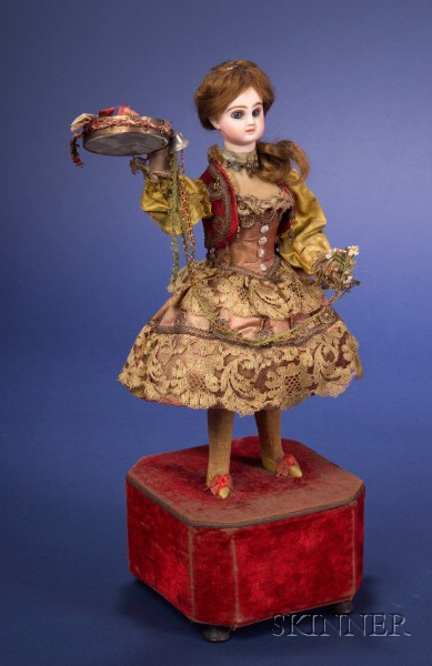 Roullet et Decamps Automaton of a Spanish Tambourine-Player
