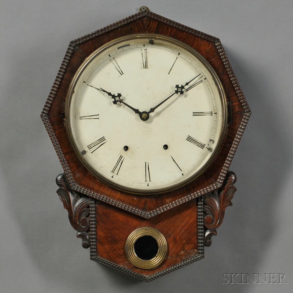 Jerome Ripple Front Wall Clock