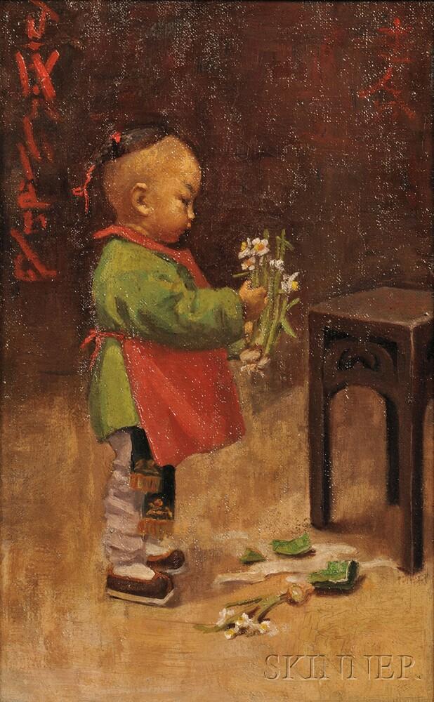 Jessie Willard (American, 1876-1937)      The Broken Vase