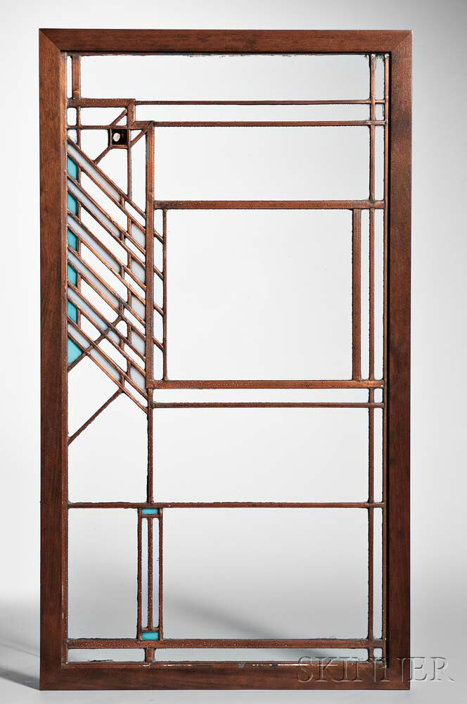 Light Screen Attributed to Frank Lloyd Wright