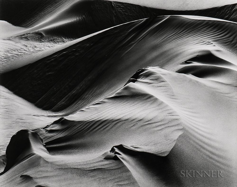 Brett Weston (American, 1911-1993)      Dunes, White Sands