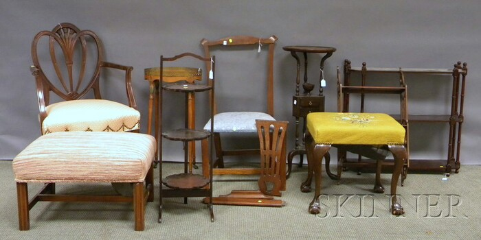 Nine Pieces of Small Furniture