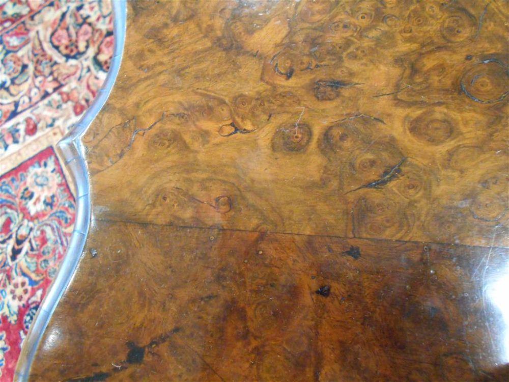 Dutch Rococo Walnut Table