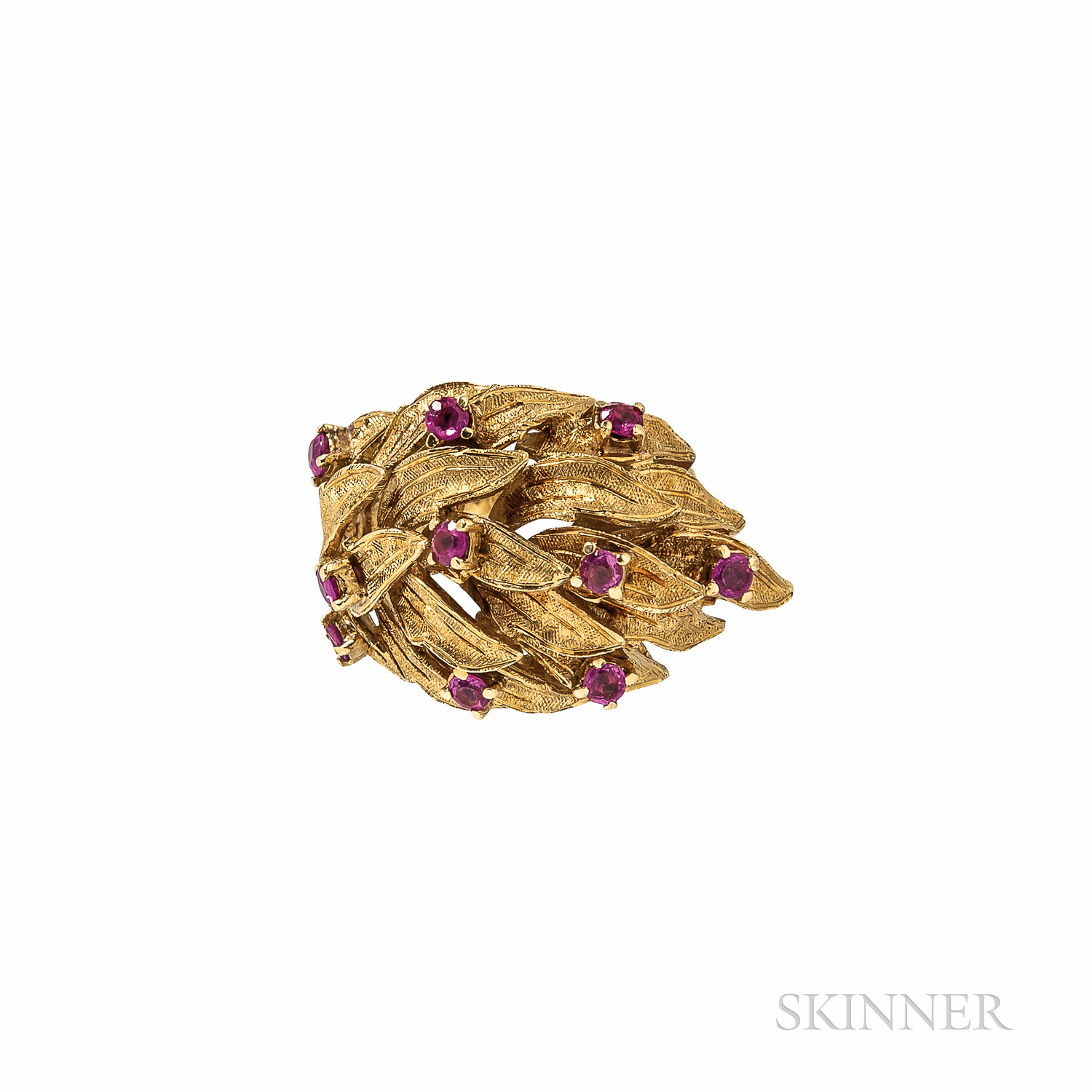 Cartier 18kt Gold and Ruby Ring