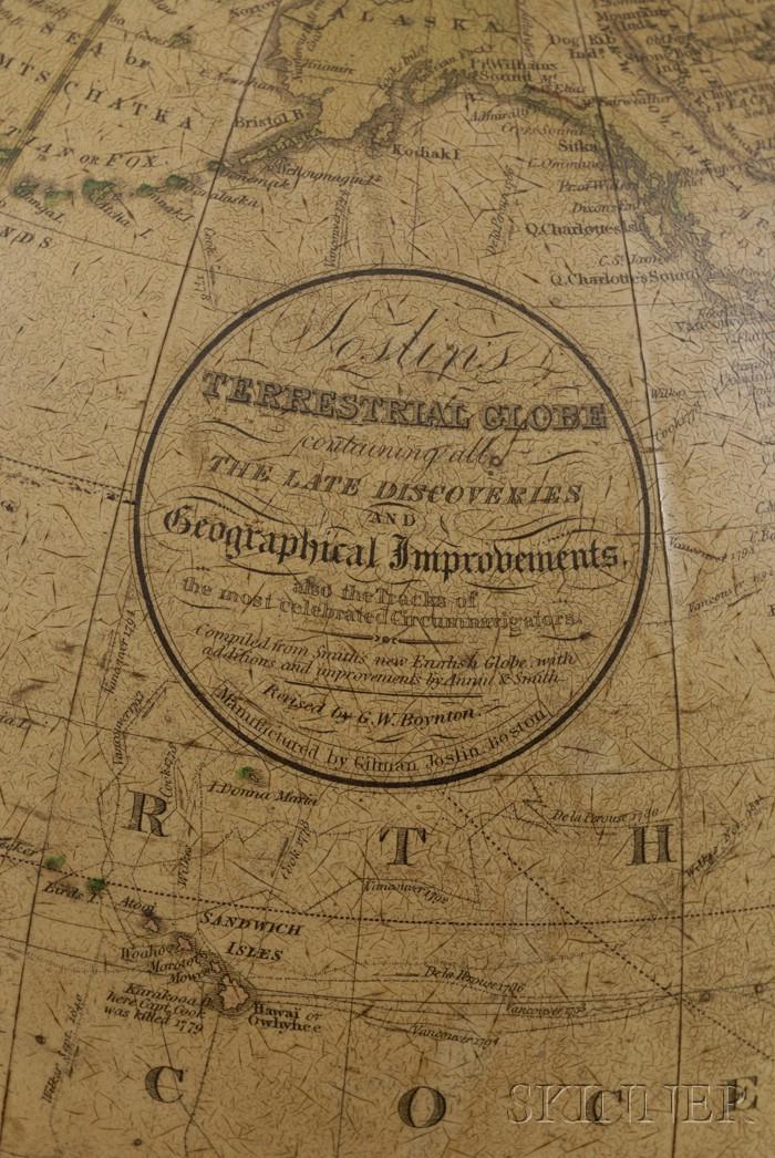 12-Inch Terrestrial Table Globe by Joslin