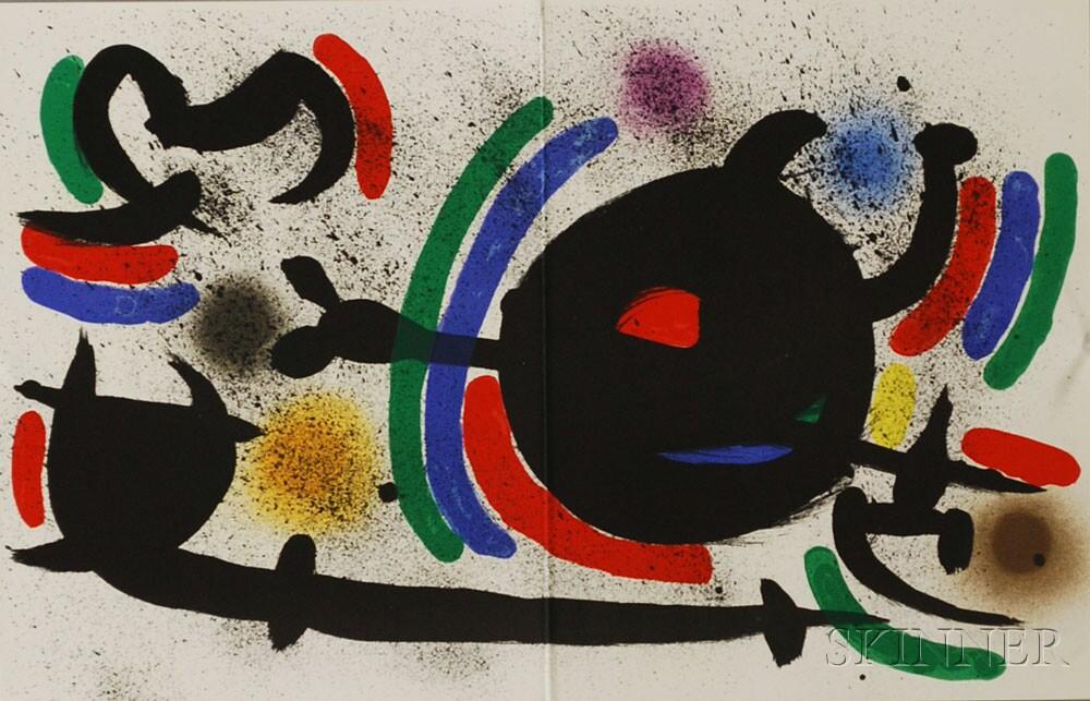 Joan Miró (Spanish, 1893-1983)      Plate X