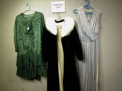 Eight Vintage 1910s-1930s Womens Dresses and Coats.