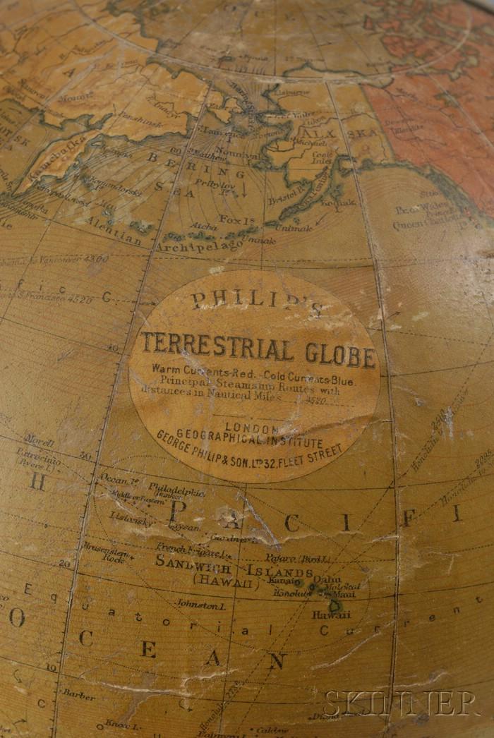 Philip's 9-inch Terrestrial Globe on Stand