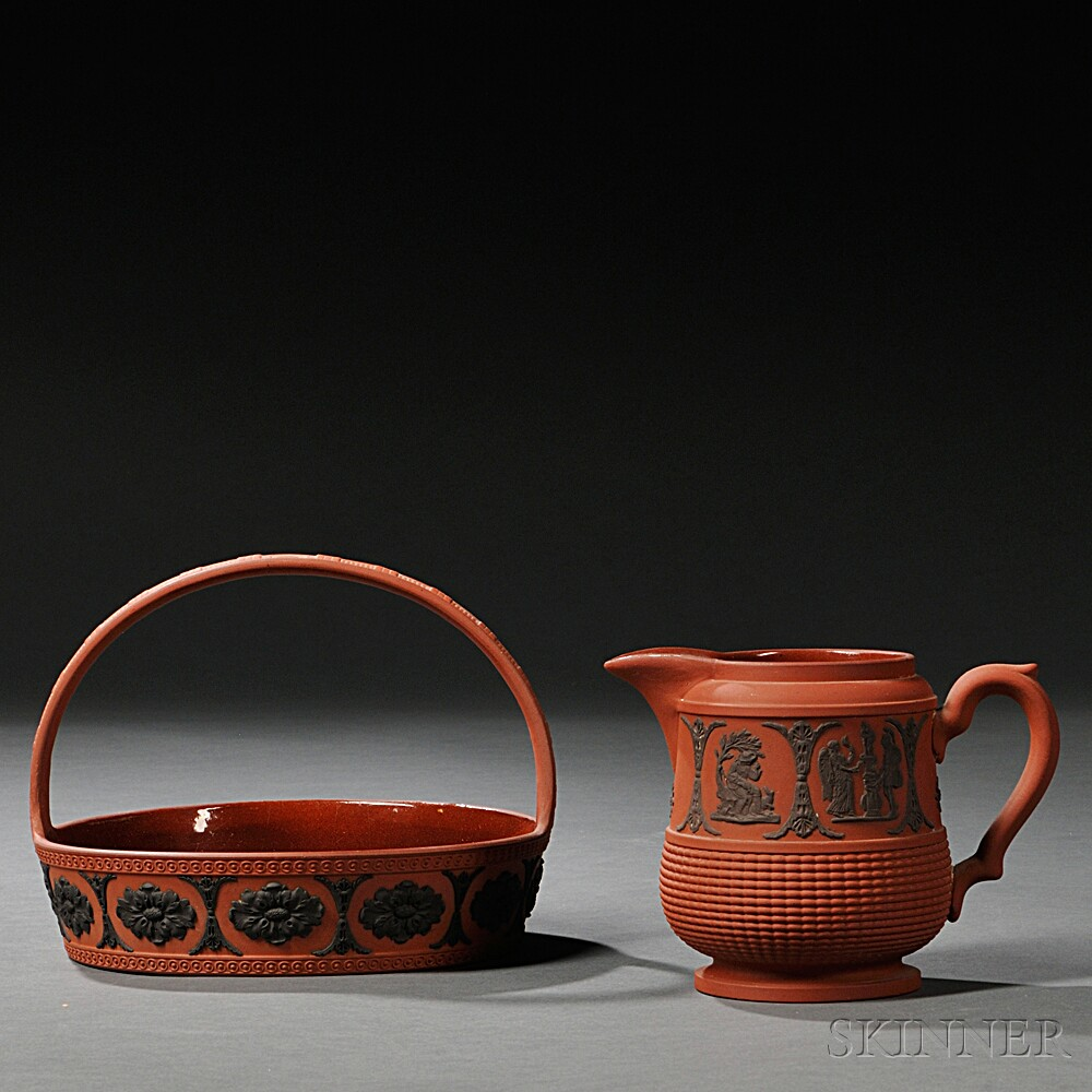 Two Rosso Antico Items
