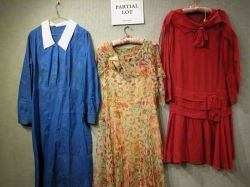 Lot of 1920s-1940s Dresses, Etc.