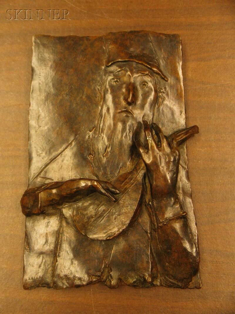 David Aronson (American, b. 1923)      Mandolin Player