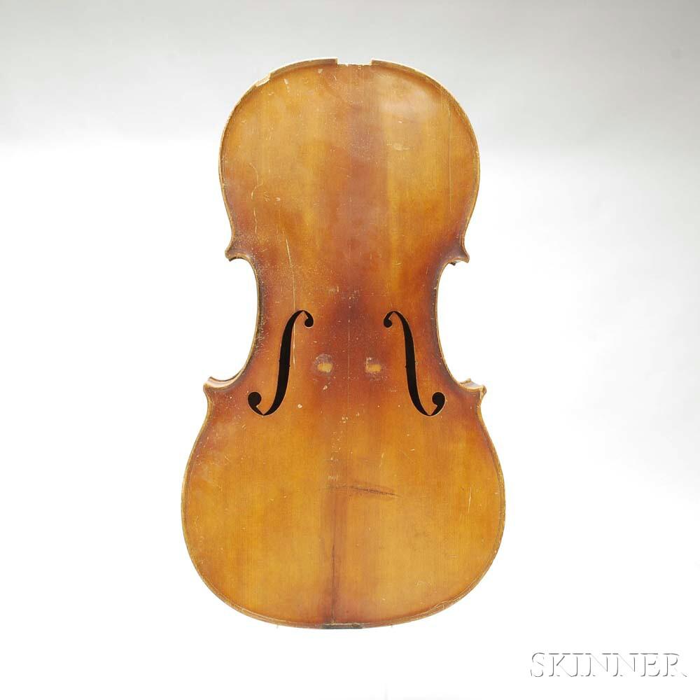 German Violoncello Body