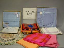 Large Assortment of Table, Bed and Bath Linens and Textiles.