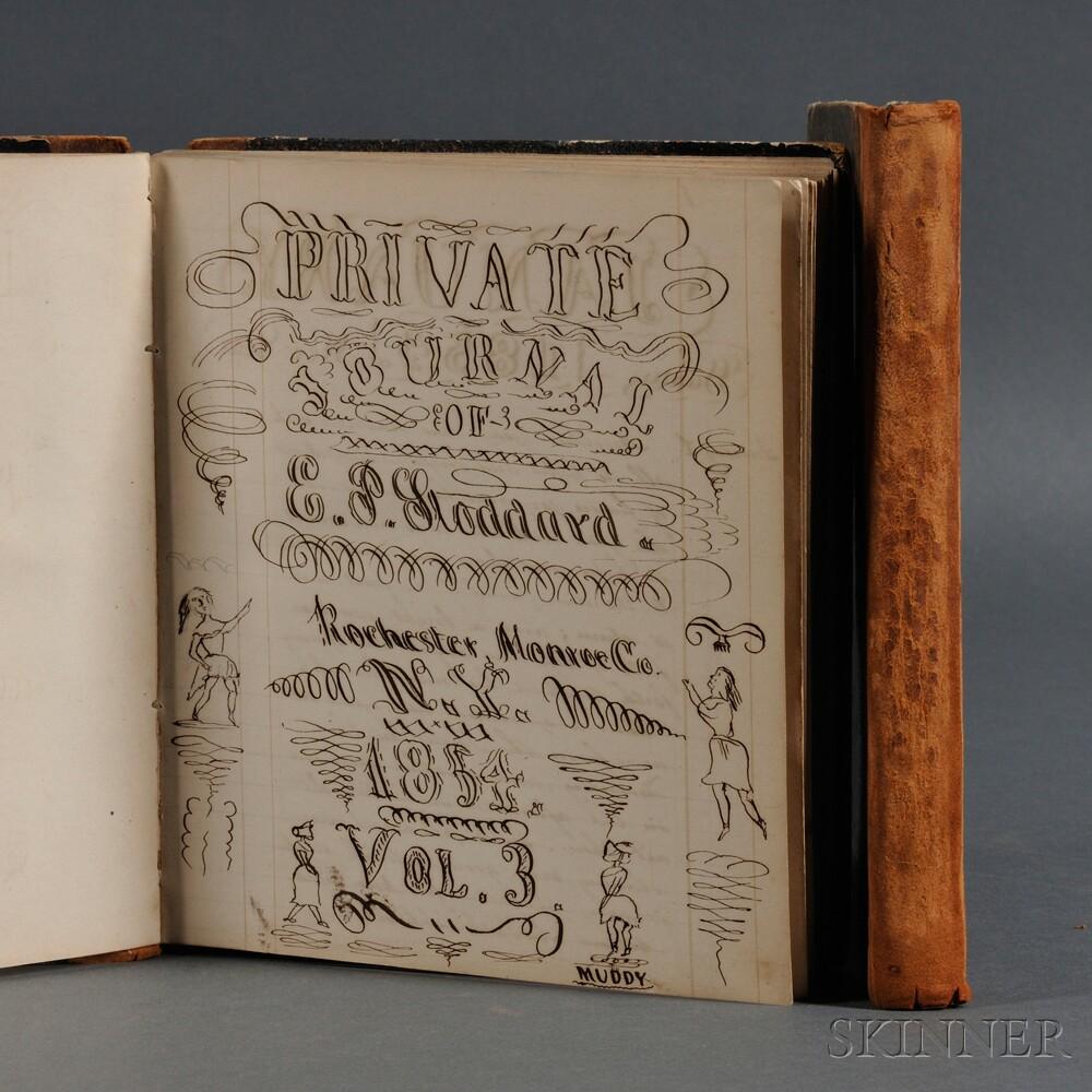 Private Journals of E.P. Stoddard 1852-1854.