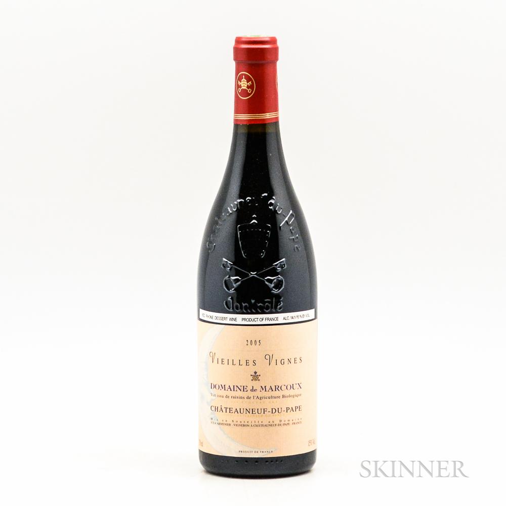 Marcoux Chateauneuf du Pape Vieilles Vignes 2005, 1 bottle