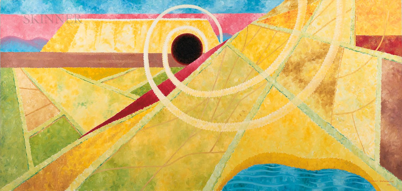 Charles Baskerville Jr. (American, 1896-1994)      Modernist Mural
