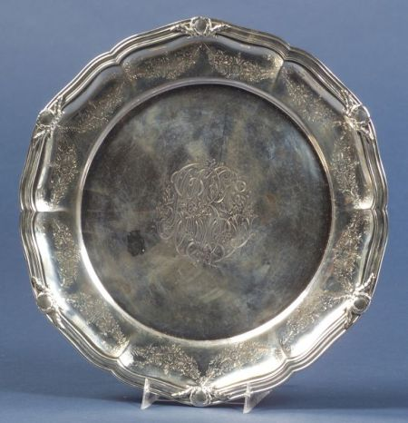 Black, Starr, & Frost Sterling Cake Plate
