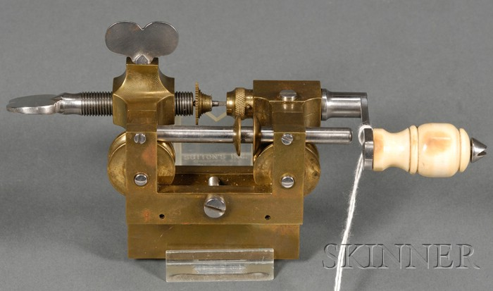 Brass and Steel Fusee Engine