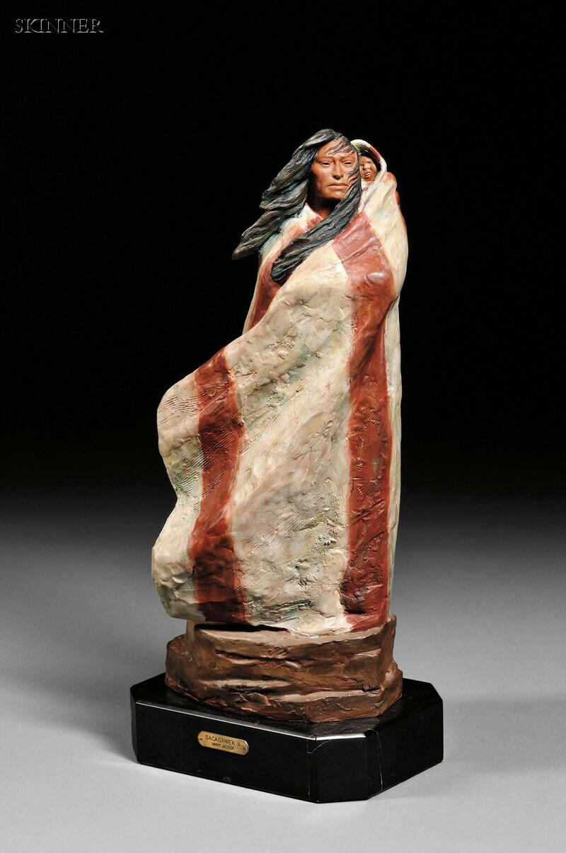 Harry Andrew Jackson (American, 1924-2011)      Sacagawea II
