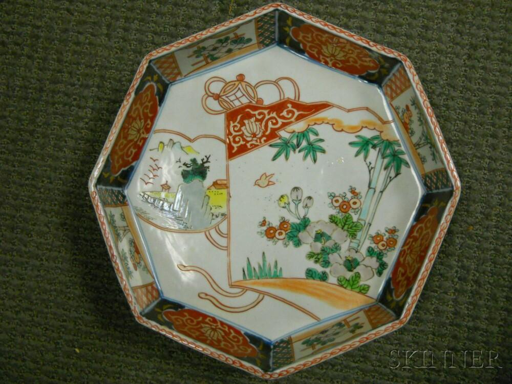 Imari Octagonal Dish