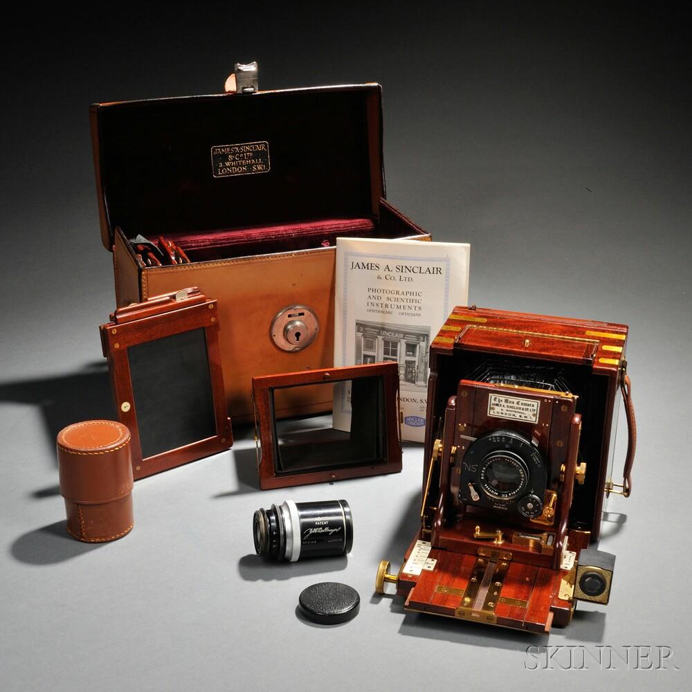 Quarter Plate Sinclair Tropical Una Camera