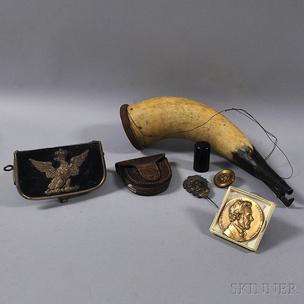 Seven Assorted Military Accessories